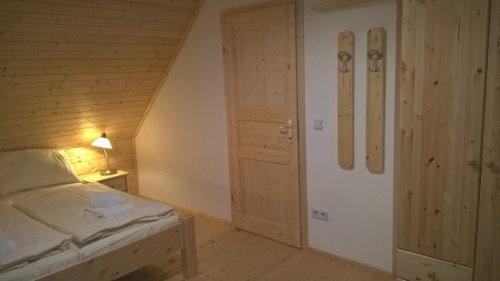 """""""Blockhaus Fini"""" apartman: hálószoba"""