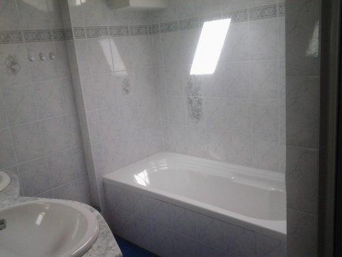 """""""Ferienhaus Agnes"""" apartman: fürdőszoba"""