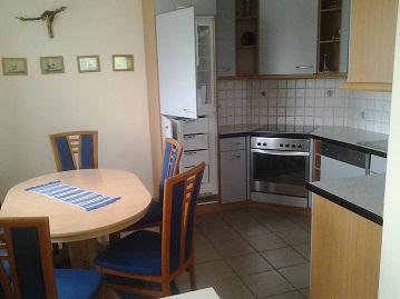 """Ferienhaus Agnes"" apartman: konyha, ebédlő"