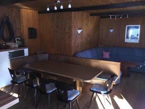 """""""Haus Petra"""": étkező és nappali"""